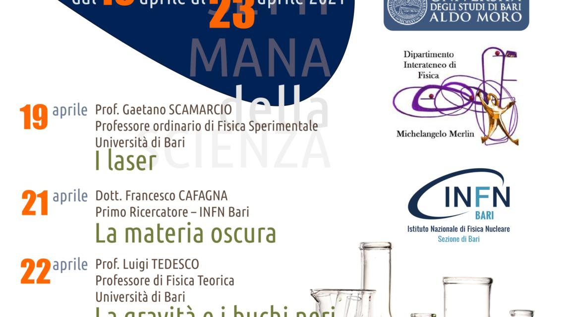 """Trani, Rocca-Bovio-Palumbo: perché: una """"Settimana della Scienza"""""""