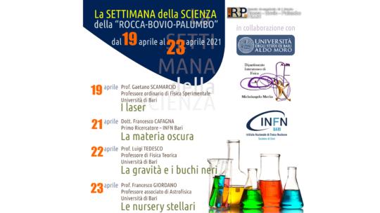 """La Settimana della Scienza della """"Rocca-Bovio-Palumbo"""""""