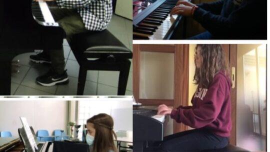 """En plein dei pianisti del corso a indirizzo musicale della """"Rocca-Bovio-Palumbo"""" alla XVI edizione del Concorso """"Le Sarriadi"""""""