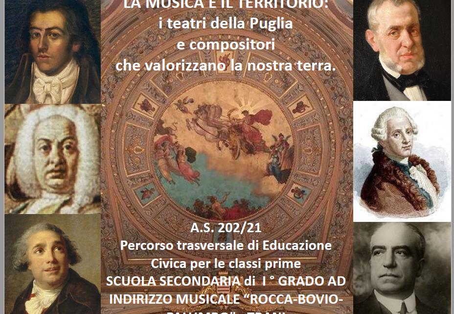 L'incontro con l'autore: i suoni per la Puglia e della Puglia.