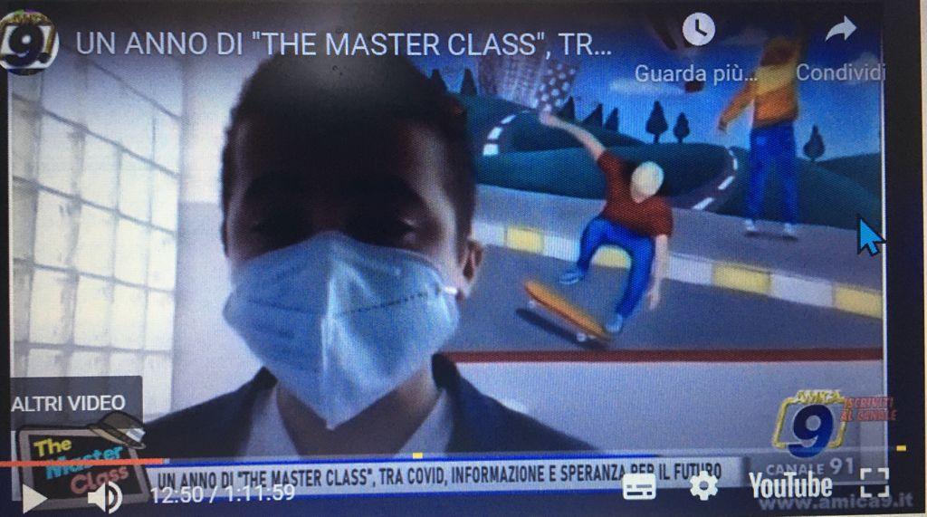 """Ultima puntata di """"The Master Class"""", con i ragazzi della Rocca-BovioPalumbo"""