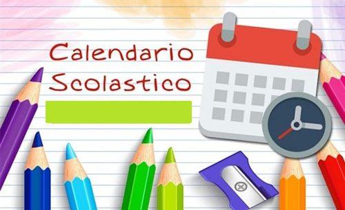 Calendario Scolastico 2021 2022